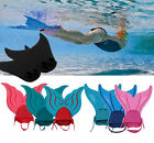 Kids/Adult Swimmable Mermaid Tails Diving Swimming Fins Training Flipper Costume