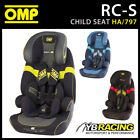 SALE! HA/797 OMP RACING RC-S CHILD BABY TODDLER KIDS CAR SEAT WITH ISOFIX