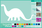 BRONTOSAURUS Silhouette cut vinyl decal #2 car truck window Dinosaur Sticker