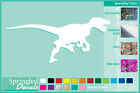 RAPTOR Silhouette cut vinyl decal #1 car truck window Dinosaur Sticker