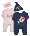 Babytown Baby 2 Piece Sleepsuit & Hat Set