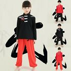 Hot Sale Kongfu Uniforms Kids Child Taichi Costume Embroidery Competition Suits