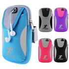 New Armband Bag Jogging Gym Running Cell Phone Pouch Case Adjustable Arm Wallet