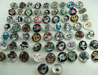 Mix diy charm Chunks series for Snap Button Chunks charm Wholesale 18mm p4