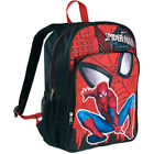 "SPIDER-MAN MARVEL COMICS 16"" Full-Size Backpack w/ Optional Insulated Lunch Box"