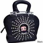 Betty Boop Rhinestone and Studs Shoulder Bag $43.74 USD