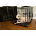 Iconic Pet Foldable Double Door Wire Pet Crate