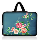 "13"" China Rose Laptop Carry Sleeve Bag Case Pouch For 13.3"" Apple Mabook Pro,Air"