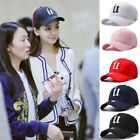 Women Men New Black Baseball Cap Snapback Hat Hip-Hop Adjustable Bboy Caps