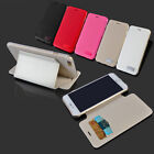 Flip Leather Phone Card Pocket Wallet stand Case For Apple iPhone 5 5S