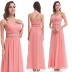 Ever-Pretty Beaded Bridesmaid Dress One Shoulder Formal Evening Ball Gown 07099