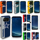 Samsung Galaxy S8 / S8 Plus Fan Case Official NFL Shock Proof With Screen Guard
