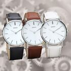 Hot Women Men Casual 3Colors Geneva Watch Analog Quartz Wristwatch