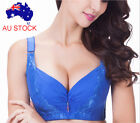 Push Up Bra Padded Super Boost Underwire Brassiere Size 38 40 42 44 46 C D Br33