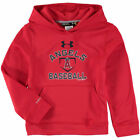 Los Angeles Angels Under Armour Youth Fleece Pullover Hoodie - Red - MLB