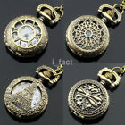 Fashion Charm Jewelry Pocket Watch Special Pendant Necklace 30inch Chain US image