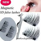 Natural Soft False Eyelashes Natural Eye Lashes Extension Handmade 3D Magnetic