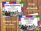 Personalised Lego Star Wars Birthday Party invitations / Thank you cards