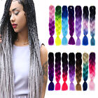 Beautiful Multicolor Synthetic Jumbo Braiding Hair Extension Afro Twist Braids