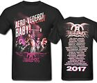 AEROSMITH Aero Vederci Tour Event Men's T Shirt Official Band Merch