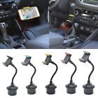 Universal 360˚ Rotation Car Cup Mount Stand Holder For 3.5-6 Inch Mobile Phone