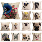 Fashion Cute Dog Pillow Case Sofa Office Waist Throw Cushion Cover Home Decor