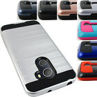 FOR ALCATEL TMOBILE REVVL BRUSHED HYBRID CASE PROTECTIVE TPU SKIN COVER+STYLUS