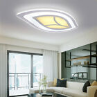 Modern Leaves Shape Acrylic LED Ceiling Light Living Room Pendant Lamp Lighting