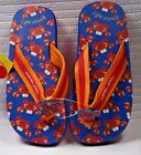 Size L Big Kid Stephen Joseph Flip Flops Crab Pinch Me Vacation Beach NWT's