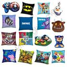 KIDS BOYS CUSHIONS - LEGO BATMAN NINJAGO HARRY POTTER PAW PATROL MARIO & MORE