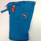 Turquoise Solid Colored Belted Cargo Shorts Size 44 URBAN CITY Piranha Records