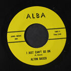 ALTON BASCO: I Just Can't Go On / You Do The Driving 45 (private Country)
