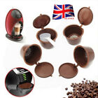 5pc Refillable Reusable Compatible Coffee Capsules Pods for DOLCE GUSTO Machine