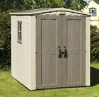 Keter Apex Plastic Steel Reinforced Garden Shed - Choice of Size