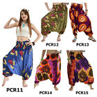 Pants PCR11 Thai 2in1 Jumpsuit Harem Boho Genie Aladdin Flowy Loose Comfy Women