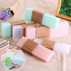 Cute Clear Transparent Plastic Pencil Case Pen Box Kids Office School Supplies