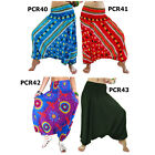 Pants PCR4043 Thai 2in1 Jumpsuit Harem Yoga Genie Aladdin Baggy Flowy Women Men