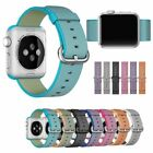 Luxury Nylon Fabric Wrist Band Strap Bracelet Watchband for Apple Watch iWatch
