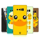 HEAD CASE DESIGNS KAWAII DUCK HARD BACK CASE FOR SAMSUNG GALAXY NOTE8