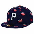 Pittsburgh Pirates MLB July 4th Independence Day America USA Flag Fitted Hat Cap on Ebay