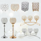 NEW Crystal Wedding Party Event Table Tealight Votive Candle Holder Candlestick