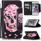 Petals Skull For LG Leon/H340 G4 Stylus/LS770 Case Samsung Galaxy Iphone Cover