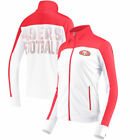 San Francisco 49Ers G-Iii 4Her By Carl Banks 17 Women's Playmaker Track Jackets