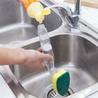 Practical Soap Dispenser Scrubber Dish Washer Scrub Refill Washing Pan Brushes