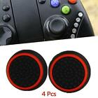4x Silicone Thumb Grip Stick Caps For XBOX 360 ONE PLAYSTATION PS4 Controller BI