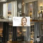 Kylie Minogue Bedding Iliana Lined Eyelet Curtains ... Sumptuous Velvet