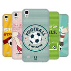 HEAD CASE DESIGNS FOOTBALL STATEMENTS HARD BACK CASE FOR LG PHONES 2