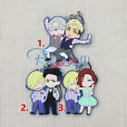 Anime Japan Yuri!!! on Ice Victor Yuri Otabek Party Rubber Strap Charm Keychain