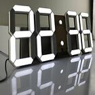 ❤ Silent Wall Clock Count Pinty Multi-Functional Remote Control Large Led Digita