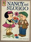 Nancy & Sluggo #185 Dell Comic Book Mar-April 1962 Snoopy,Charlie Brown,Peanuts